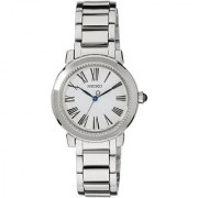 Seiko Analog White Round Women's Watch-SRZ447P1