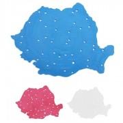 Sablon mic harta Romaniei
