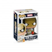 Funko Pop Iron Fist Gold And White Costume Marvel