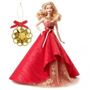 Mattel Barbie 2014 Holiday Doll With Ornament