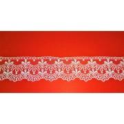 Csipke szalag - függöny szegély 6 cm széles