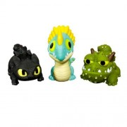 How to Train Your Dragon 2 play in the bath water play Figure Set Sukuito & float Dragons (Tooth & Storm fly & Mitoragu) [HOW TO TRAIN YOUR DRAGON 2] 2014 film version of SQUIRT & FLOAT DRAGONS