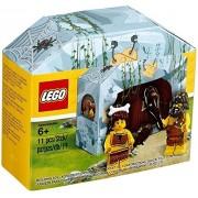 Lego Minifig Primitive Person Iconic Cave Set Caveman & Cavewoman 5004936