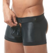Gregg Homme REVEAL Trunk Boxer Brief Underwear Black 151055