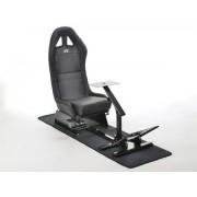 FK-Automotive FK siège de jeu Suzuka siège simulateur pour jeux vidéos ou consoles noire avec tapis