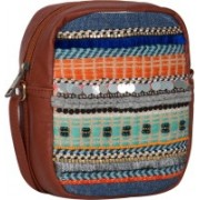 Desi Drama Queen New Mini Sling School Bag(Multicolor, 5 inch)