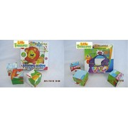 Kids Toys Animals Puzzle And Cars Puzzle Cubes 6 Puzzles In 1 2 Pack A Great Educational Cube Block Jigsaw Puzzles Set For Children
