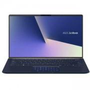 Лаптоп Asus UX433FN-A5087T, Intel Core i7-8565U (up to 4.1GHz, 8MB), 14 FHD (1920x1080) LED AG, 8GB LPDDR3, 256 GB M.2 SSD, 90NB0JQ1-M04390