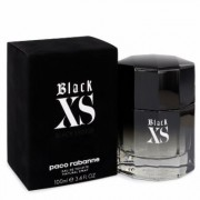 Black Xs For Men By Paco Rabanne Eau De Toilette Spray (2018 New Packaging) 3.4 Oz