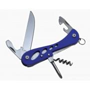 multifuncțional cuțit Baldéo ECO163 roabă, 7 funcție albastru