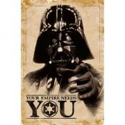 Star Wars Themafeest Star Wars poster 61 x 91,5 cm