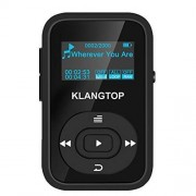 MP3 Player Wireless 8GB KLANGTOP Digital Clip Music Player with FM Radio Voice Record Function Special Design for Sport and Music Lovers