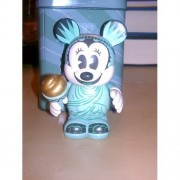 """Disney Vinylmation Exclusive 3"""" Inch New York Times Square Minnie Mouse Statue of Liberty"""