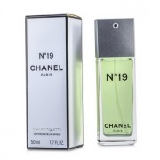 No.19 Eau De Toilette Spray Non-Refillable 50ml/1.7oz No.19 Тоалетна Вода Спрей Непрезареждаем