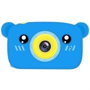 Cartoon HD Camera voor Kinderen met 3 Spellen - 12MP - Beer / Blauw