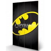 de lemn imagine DC Benzi desenate - Batman Simbol - PYRAMID POSTERS - LW11204