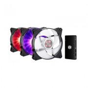 Cooler Master VENTILADOR 120X120 COOLERMASTER MASTERFAN PRO120 RGB 3UD