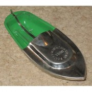 Kuhu Creations Explorer Toy Steam Power Tin Boat Runs on candle Fuel flame.