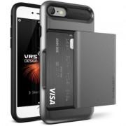 VRS Design Etui Damda Glide do iPhone 7 Srebrno-stalowy
