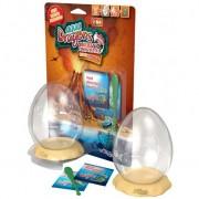 Set Acvariu Aqua Dragons Jurassic Time Travel Eggspress World Alive W4005