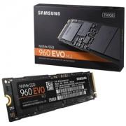 SSD Samsung 960 EVO NVMe 250GB M.2 PCIe 3.0 x4, MZ-V6E250BW