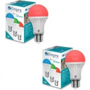 SWARA E27 5W COLOR LED BULB RED- PACK OF 2