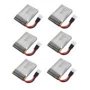 6 X Quantity Of Jjrc 1000 A 3.7v 240m Ah Lipo Battery Rechargeable Power Pack Fast Free Shipping From Orlando, Florida Usa!
