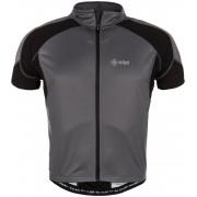 KILPI Cyklistický dres FLASH EM0049KIBLK Černá L