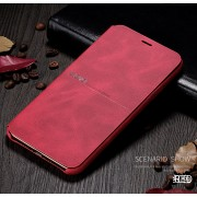 X-LEVEL Extreme Series Leather Cell Covering for iPhone 11 Pro Max 6.5 inch - Red
