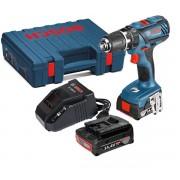 Винтоверт ударно-пробивен +GSB 14,4-2-LI Plus, 59/21 Nm, 0-500/0-1.900 min-1, 1,49 kg, 06019E7020, BOSCH