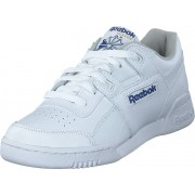 Reebok Classic Workout Plus Wht/Royal, Skor, Sneakers & Sportskor, Sneakers, Vit, Herr, 45