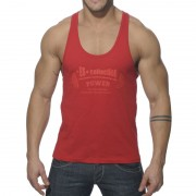 ES Collection Power Gym Low Rider Tank Top T Shirt Red TS077