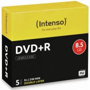 Intenso DVD+R Intenso Jewel Case (DoubleLayer)