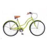 Neuzer California női cruiser kerékpár Zöld