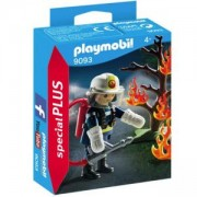 Комплект Плеймобил 9093 - Пожарникар с дърво, Playmobil, 2900347