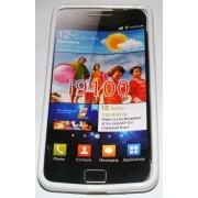 Силиконов гръб ТПУ за Samsung I9100 Galaxy S II Бял