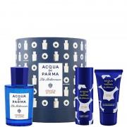 Acqua di Parma blu mediterraneo arancia capri cappelliera eau de toilette 75 ML Eau de Toilette + 40 ML Shower Gel + 50 ML Body Lotion