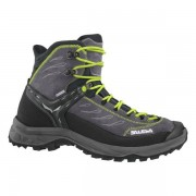 Salewa MS Hike Trainer Mid GTX - scarpe da trekking - uomo - Black/Green