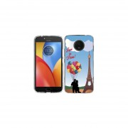 Funda Para Celular Motorola E4 Plus Love Paris