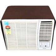 Glassiano Coffee Colored waterproof and dustproof window ac cover for Hitachi 1.5 Ton 5 star AC RAW518KUD Kaze Plus