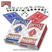 Carti de joc Bicycle Prestige 100% Plastic