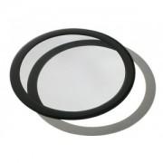 Filtru de praf DEMCiflex Dust Filter Round 140mm - Black/Black