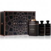 Bvlgari Man in Black coffret IX. Eau de Parfum 60 ml + bálsamo after shave 40 ml + champô e gel de banho 40 ml
