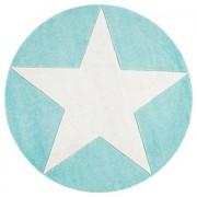 LIVONE Tapijt Happy Rugs Star rond, mint 160 cm