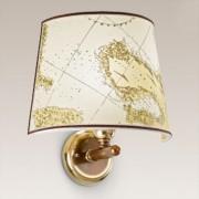 Laguna wall light, brass