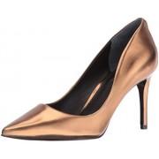 Guess Women s Bennie Dress Pump Gold 8. 5 B(M) US