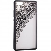Husa Protectie Spate Star TOPLACE_G935 Lace Design 2 Negru pentru Samsung Galaxy S7 Edge