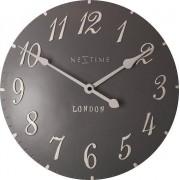Zegar ścienny London Arabic brązowoszary