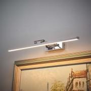 Lampenwelt.com Applique pour tableau LED chromée Elif - LAMPENWELT.com