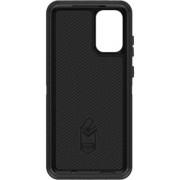 - OtterBox Defender Series - Achterzijde behuizing voor mobiele telefoon - robuust - polycarbonaat, synthetisch rubber - zwart - voor Samsung Galaxy S20+, S20+ 5G